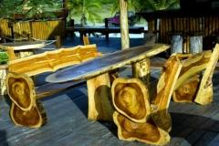 Мебель из горбыля