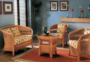 Фото - плетеная мебель из ивы