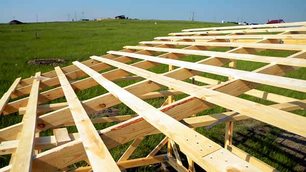 Односкатная крыша своими руками пошагово: план, тонкости, монтаж