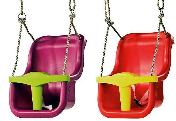 Детские сидения для качелей с ремнями безопасности