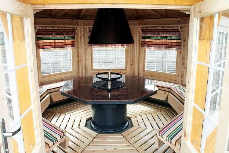 Финский домик изнутри
