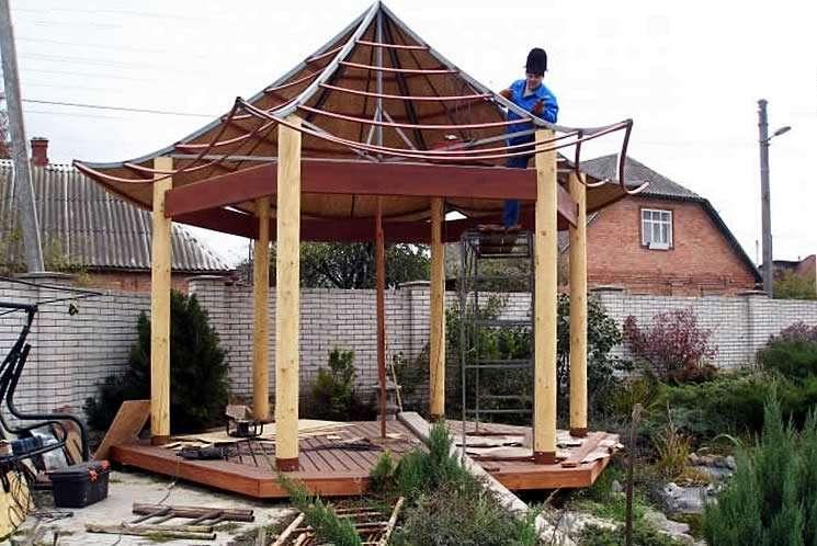 Сооружение пагоды