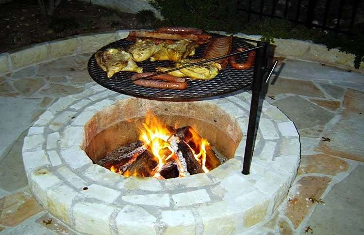 Приготовление еды на открытом огне