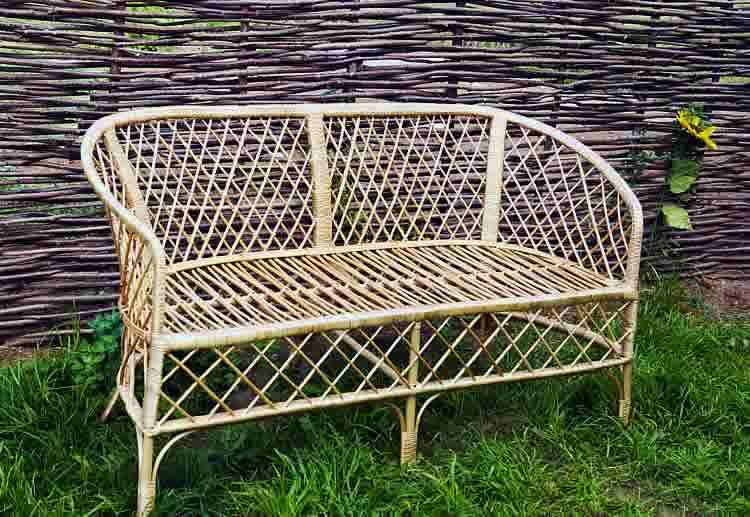 Самодельная плетеная мебель