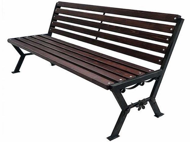 Садовые скамейки из профильной трубы своими руками фото 987