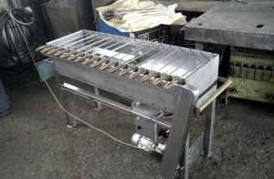 Мангал с электроприводом - самостоятельное изготовление