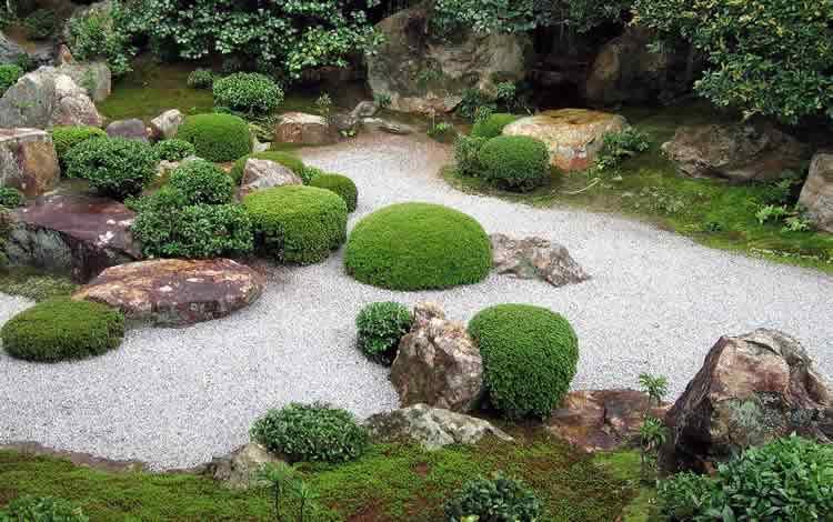 Садовый дизайн из кмней