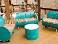 Изготовление мебели из подручных материалов