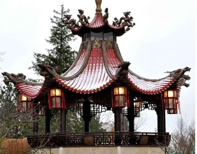Элемент восточной архитектуры