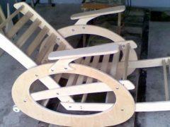 Делаем кресло качалку из фанеры своими руками правильно