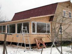 Технология утепления веранды в деревянном доме