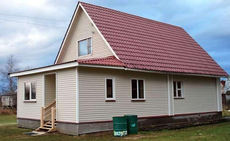 Как пристроить веранду к дому из пеноблоков