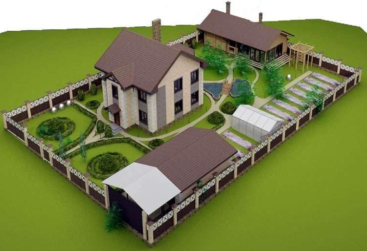 План возведения постройкиi