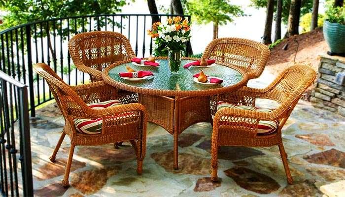 Мебель для веранды и террасы: варианты (15 фото ), виды, изготовление своими руками
