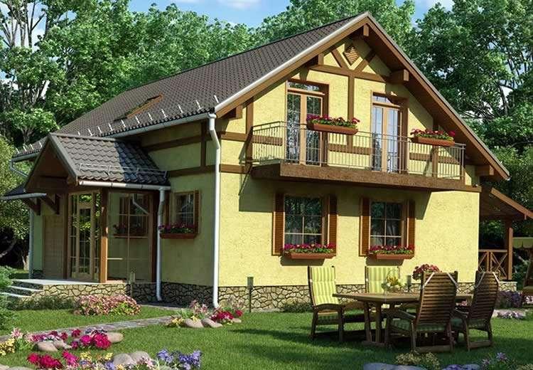 Готовый дачный домик