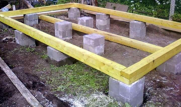 Фундамент для каркасного дома своими руками пошаговая инструкция фото 923
