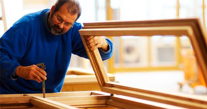 Замеры деревянной рамы