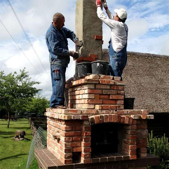 Строительство дымохода для печи