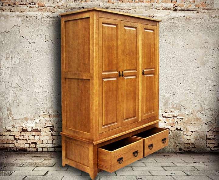 Сделать своими руками шкаф под старину своими