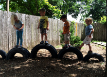 Полоса препятствий для детей