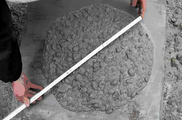 Cостав бетона для фундамента в правильных пропорциях с помощью ведер