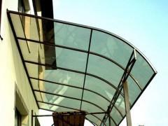 Скат крыши из поликарбоната