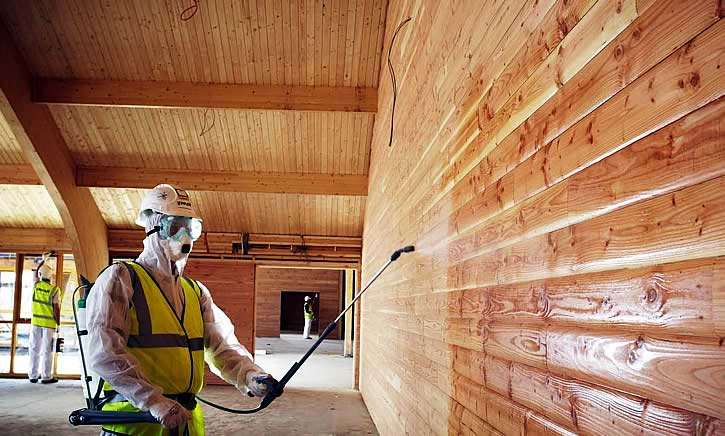 Обработка древесины от гниения