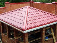 Четырехскатная крыша – надежная функциональность