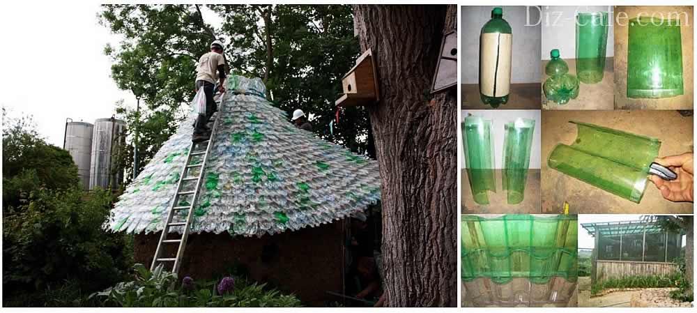 Раскрой бутылки из пластика