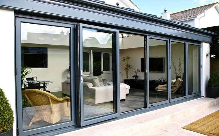 Аллюминиевые раздвижные двери