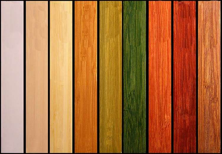 Ламели из бамбука