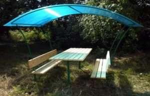 Как построить садовую беседку для дачи эконом-класса