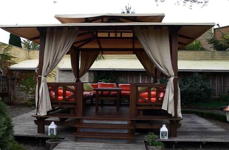 Выбираем шторы для летней беседки или веранды