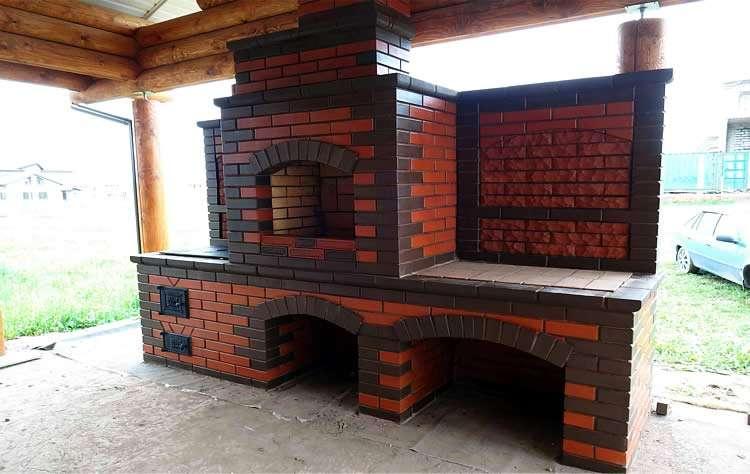 Построить барбекю из кирпича