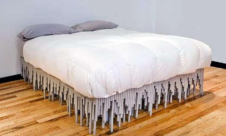 Кровать из полипропиленовых труб