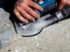 Полировка бетона: особенности процедуры