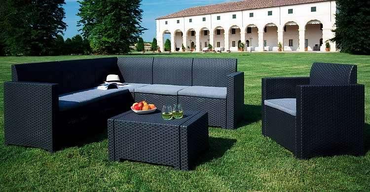 Итальянская мебель из ротанга