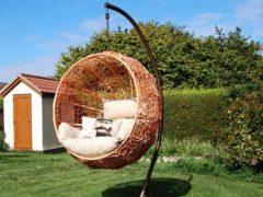 Уютное подвесное кресло для отдыха своими руками