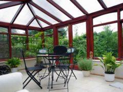 Делаем прозрачную крышу для террасы правильно