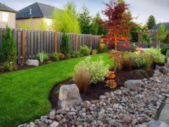 Дизайн ландшафта частного дома – волшебство своими руками