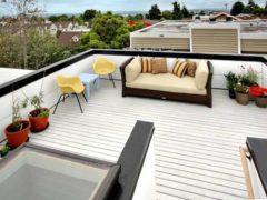 Как сделать террасу на крыше и не навредить его конструкции