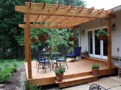 Как пристроить террасу к дачному дому самостоятельно?