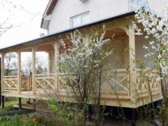 Как построить веранду из дерева - поэтапное строительство