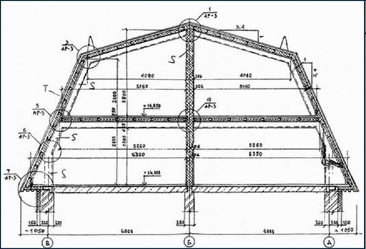 Расчет постройки
