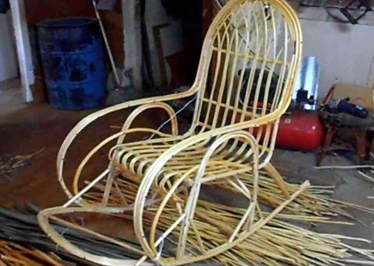 Изготовление каркаса кресла