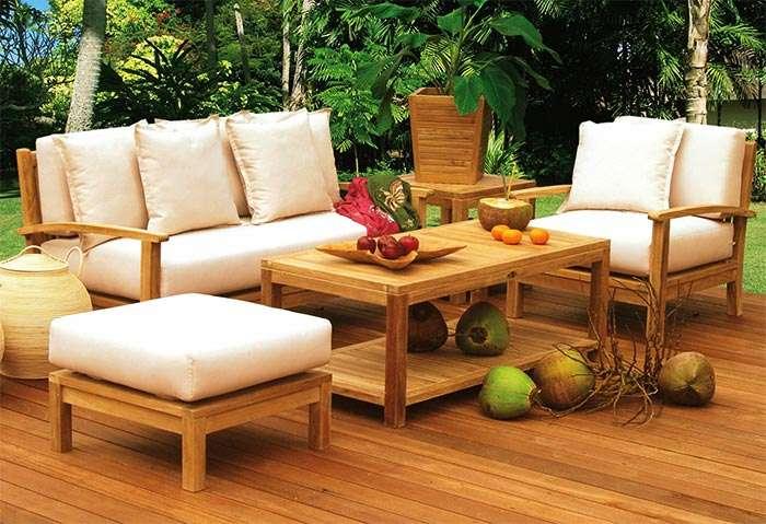 Мебель для летних пристроек: материалы, как сделать своими руками, нюансы покупки