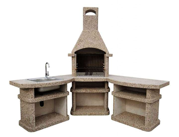 Заводская модель печного комплекса
