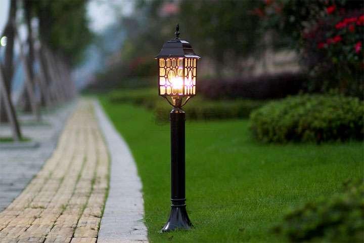 Декоративный фонарь для дачи