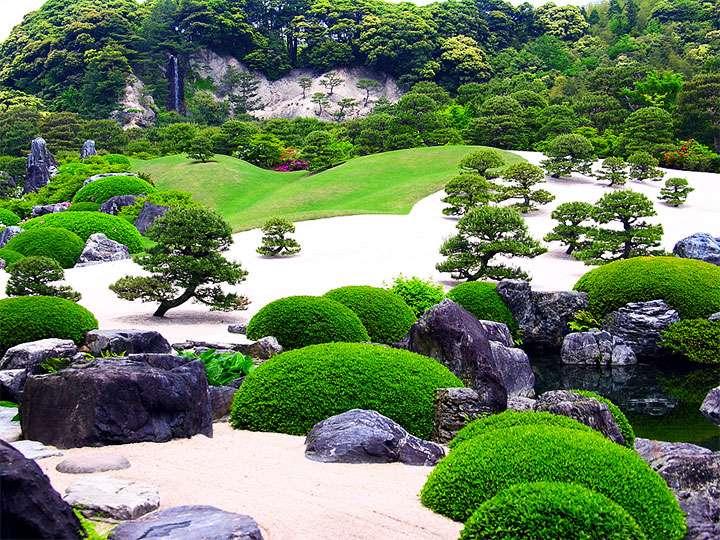 Классический японский парк