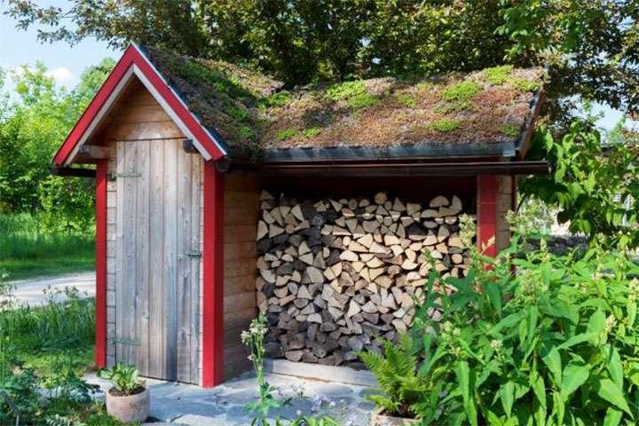 Постройка для хранения дров